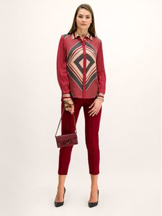 Pennyblack Koszula Emanuela 21140519 Czerwony Regular Fit