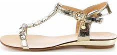 Sandały damskie Primamoda z klamrą casualowe