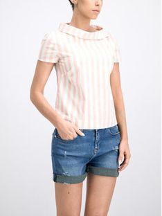 Trussardi Jeans Bluzka 56C00208 Różowy Regular Fit