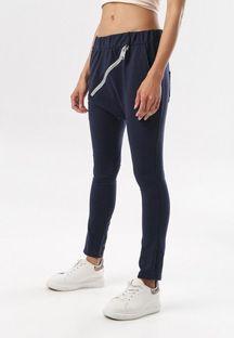 Granatowe Spodnie Adrealin
