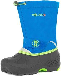 Buty zimowe dziecięce Trollkids bez zapięcia