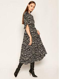 Sportmax Code Sukienka letnia Pugnale 72261306 Czarny Regular Fit