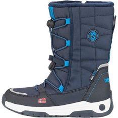 Buty zimowe dziecięce Trollkids gładkie