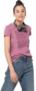 Bluzka damska różowa Jack Wolfskin