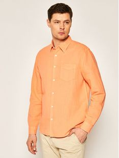Wrangler Koszula Ls 1 Pkt W5A9LOA04 Pomarańczowy Regular Fit