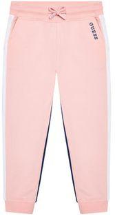 Guess Spodnie dresowe K1RQ01 KA6R0 Różowy Regular Fit