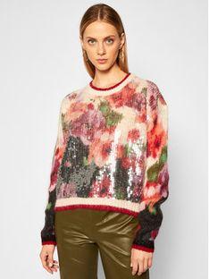 TwinSet Sweter 202TT3281 Kolorowy Regular Fit