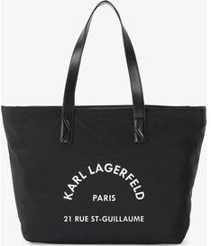 Karl Lagerfeld shopper bag mieszcząca a7 na wakacje