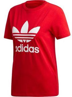 Bluzka damska Adidas Originals z okrągłym dekoltem