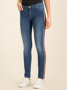 Trussardi Jeans Jeansy Regular Fit Denim Roxy Blue Stretch 56J00001 Granatowy Regular Fit