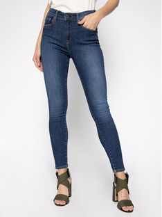 Pepe Jeans Jeansy Skinny Fit Zoe PL203616 Granatowy Skinny Fit
