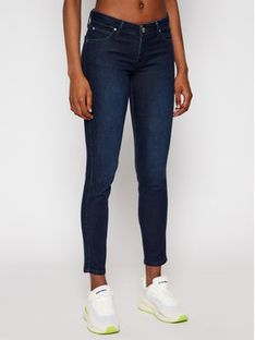 Lee Jeansy Skinny Fit Scarlett L526RKIN Granatowy Skinny Fit