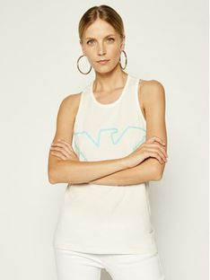 Emporio Armani Underwear Top 164335 0P255 00110 Biały Regular Fit