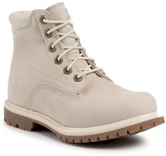 Trapery TIMBERLAND - Waterville 6 In Waterproof Boot TB0A1HMC169 White Nubuck