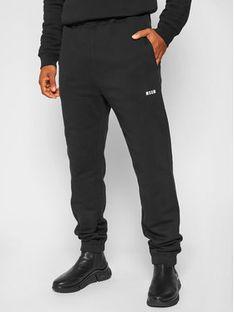MSGM Spodnie dresowe 2940MP61 207599 Czarny Regular Fit