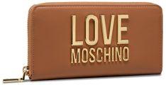 Duży Portfel Damski LOVE MOSCHINO - JC5611PP1CLJ020A Cammello