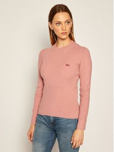 Levi's® Sweter Crew Rib 21967-0003 Różowy Slim Fit