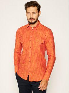 Rage Age Koszula Aldebaran 2 Pomarańczowy Slim Fit