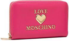 Duży Portfel Damski LOVE MOSCHINO - JC5622PP1CLF0604 Fuxia