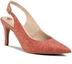 Sandały MACCIONI - 119 Czerwony