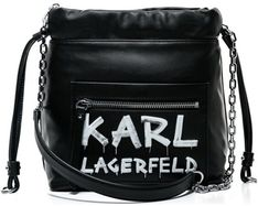 Listonoszka Karl Lagerfeld czarna