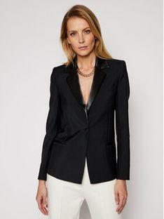 Victoria Victoria Beckham Żakiet Tailoring 2121WJK002186A Czarny Slim Fit