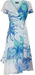 Sukienka Poza mini z dekoltem v
