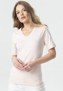 Jasnoróżowy T-shirt Sada