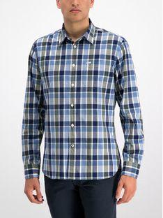 Pepe Jeans Koszula Harry PM305894 Niebieski Regular Fit