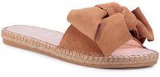 Manebi Espadryle Sandals With Bow W 1.1 J0 Brązowy