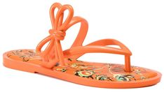 Japonki MELISSA - Flip Flop + Jason Wu A 32462 Orange 52167