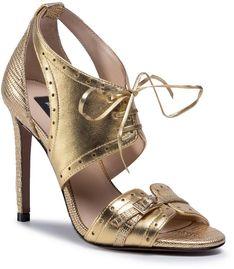 Sandały PINKO - Francine 1 Sandalo AI 20-21 PBKSH 1P21TT Y6LP Gold H55