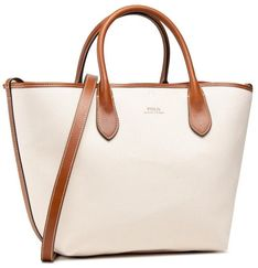 Torebka POLO RALPH LAUREN - Bellport Tote 428833434003 Natural
