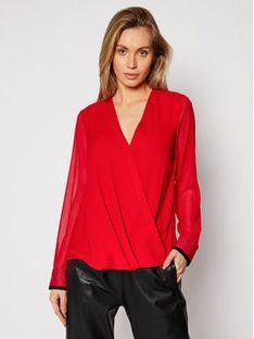 DKNY Bluzka P0JA6CMH Czerwony Regular Fit