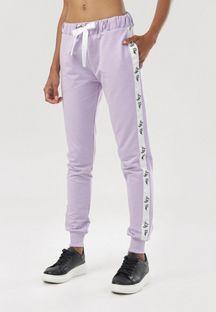 Jasnofioletowe Spodnie Cerifera