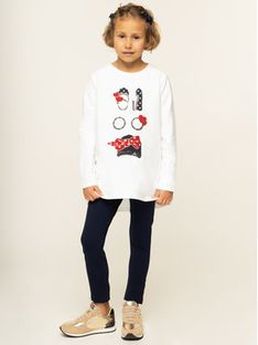 Liu Jo Kids Komplet bluzka i legginsy Felpa K69071 F0090 Kolorowy