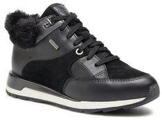 Geox Sneakersy D New Aneko B Abx B D04LYB 02285 C9999 Czarny