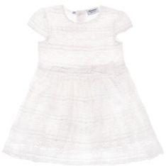 Primigi Sukienka elegancka Elegant Girl 43206801 Biały Regular Fit