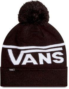 Czapka VANS - Stripe Pom Beanie VN0A4SFOY281 Black/White