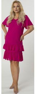 Sukienka Ptakmoda.com mini z krótkim rękawem z tiulu