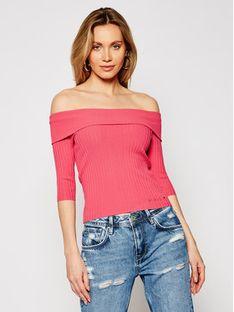 Guess Sweter Dayna W1GR0O Z2U00 Różowy Slim Fit