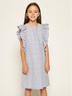 Primigi Sukienka elegancka Tropez Memories 45112511 Niebieski Regular Fit