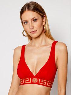 Versace Biustonosz braletka Donna AUD01047 Czerwony