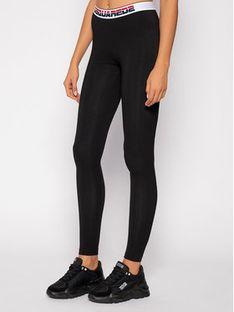 Dsquared2 Underwear Legginsy D8LM03230 Czarny Slim Fit