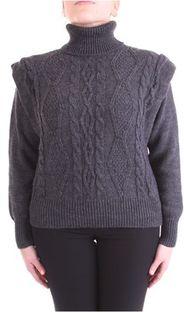 Sweter damski Haveone szary z elastanu