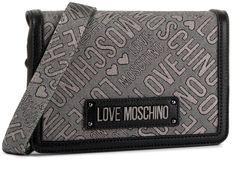 Torebka LOVE MOSCHINO - JC4211PP08KC190A Nero