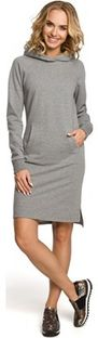 Sukienka Moe casual z długim rękawem mini