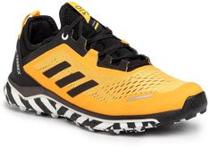 Buty adidas - Terrex Agravic Flow FV2412 Solar Gold / Core Black / Cloud White