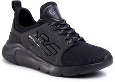Sneakersy EA7 EMPORIO ARMANI - X8X057 XCC55 M620 Black/Black