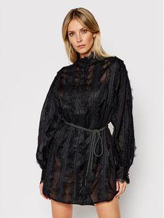 One Teaspoon Sukienka codzienna Eternal Lace Spirit 23638 Czarny Regular Fit